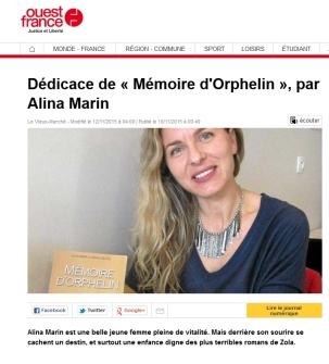 Ouest France – 12/11/2015