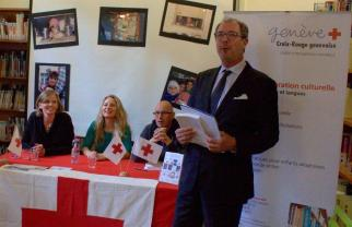discours de M. Matteo Pedrazzini, Président du Comité de la Croix-Rouge genevoise